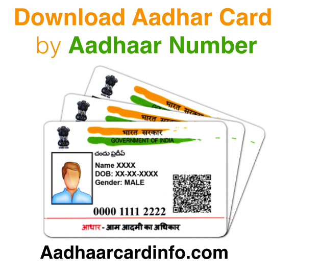 Download Aadhar Card by Aadhaar Number