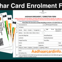 Aadhar Card Enrollment Form